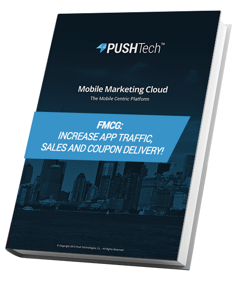 FMCG: Increase app traffic, sales and coupon delivery! - PUSHTech